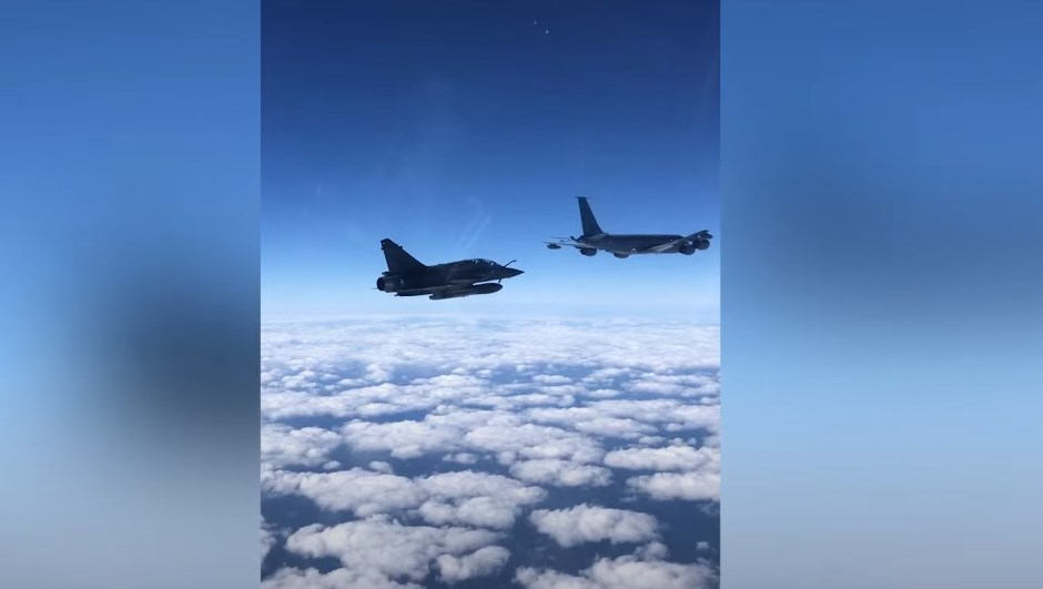 In Video: Russian Su-27 Jets Intercepted French Military Aircraft Over Black Sea