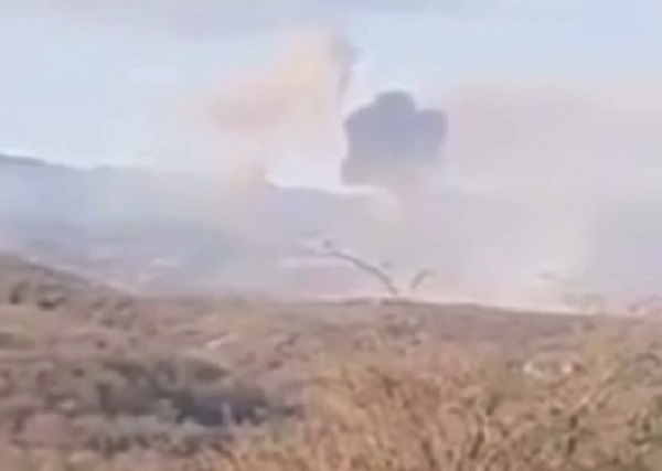 Video Shows Armenian Strikes On Azerbaijani Targets Near Shushi With Iskander Missiles During 2020 War