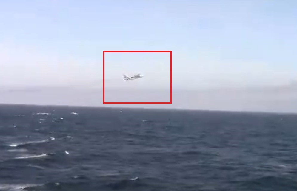 In Video: Russian SU-24 Performs Low Pass Near USS Donald Cook Destroyer In Black Sea