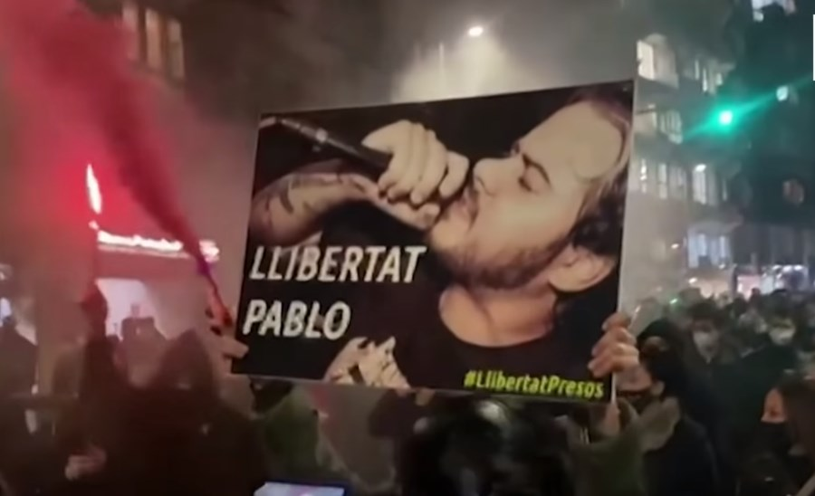 Spanish Authorities Focus On Fighting Opposition Rapper While Gang Of Armed Migrants Attacks School Just Under Nose Of Police