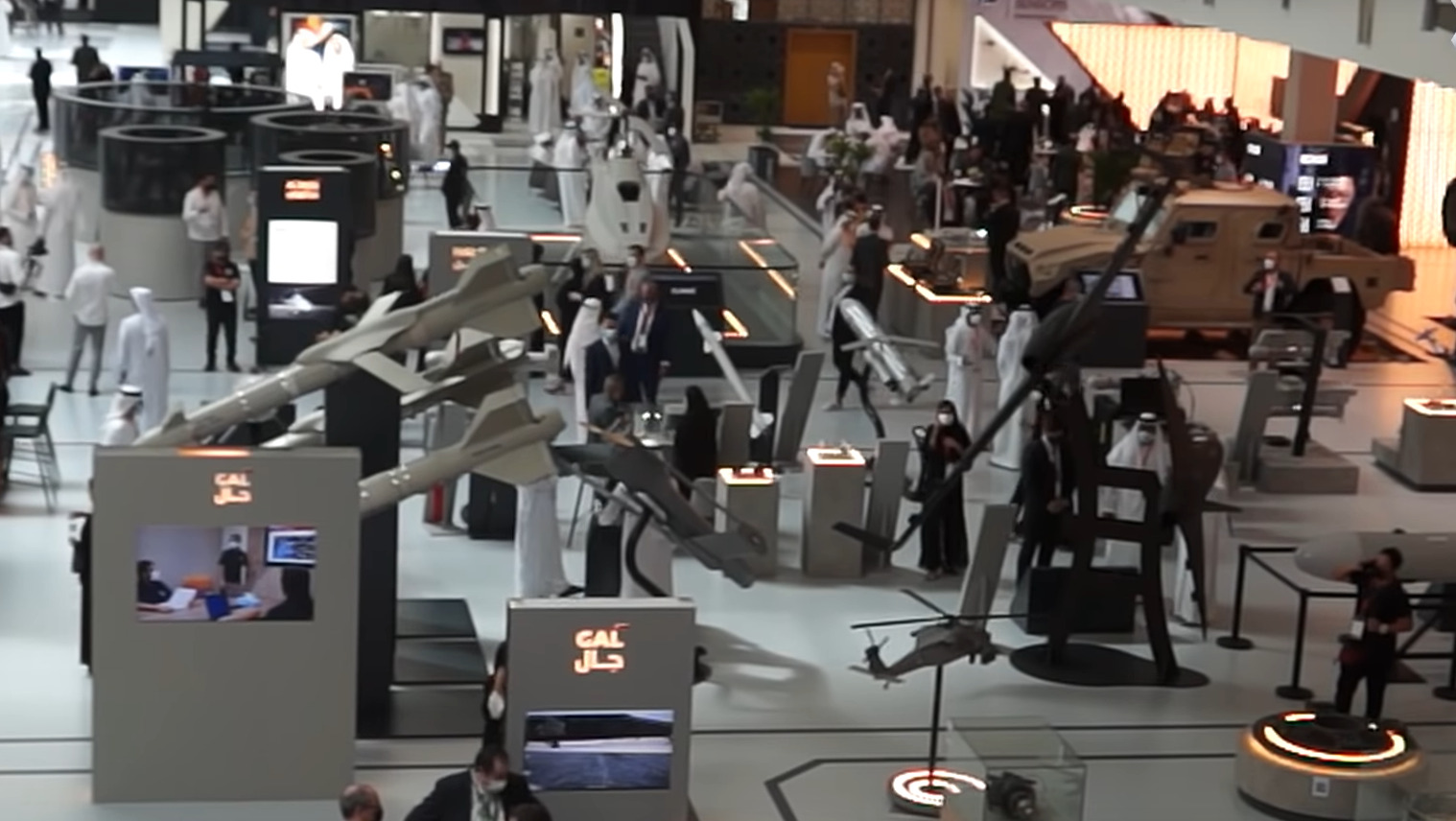 IDEX-2021 Kicks Off In Abu Dhabi, UAE Immediately Signs 19 Defense Contracts Worth $1.4Bn