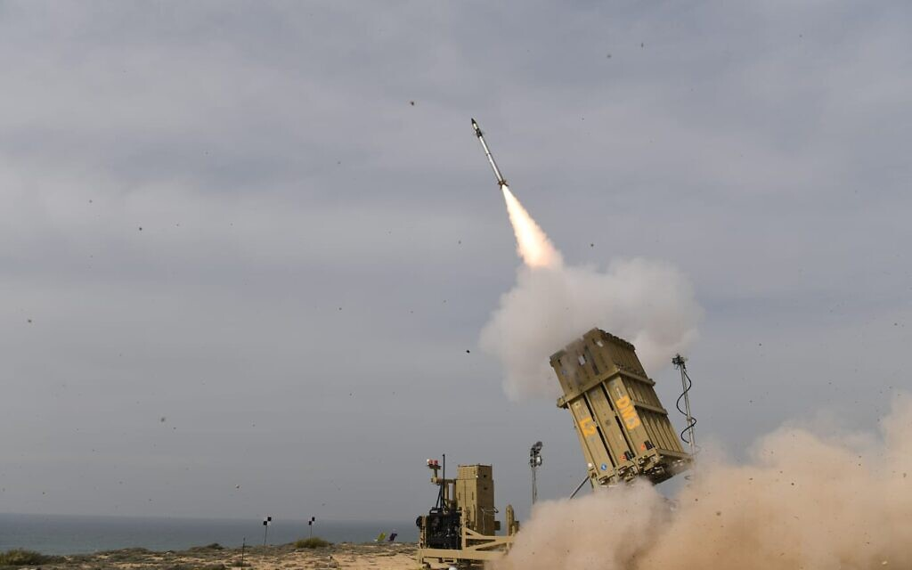 Israel Successfully Tests Upgraded Iron Done Defense System