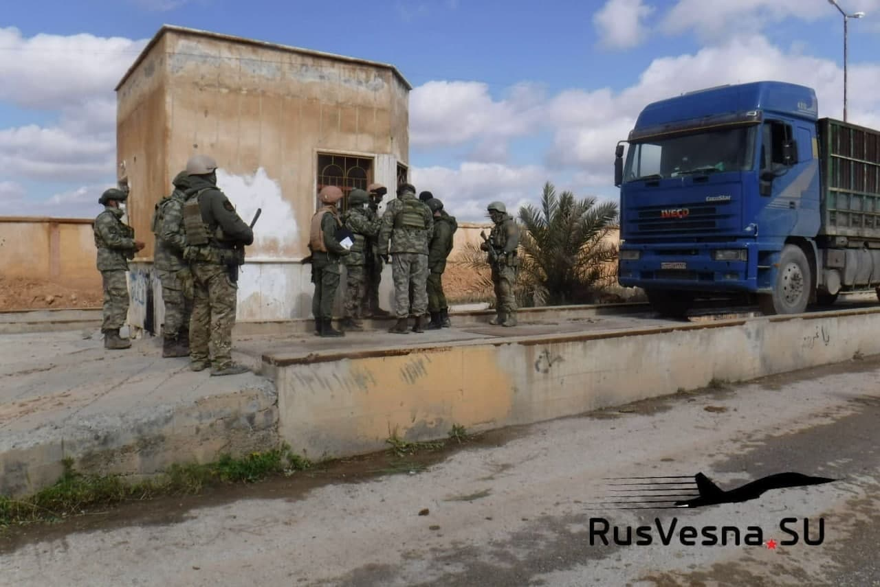 Russia Facilitates Deal To Move Grains From Turkish-Held Grain Silos In Northern Raqqa (Video, Photos)