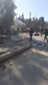 Casualties Reported After New Bombing In Turkish-Occupied Areas In Northeastern Syria (Photos, Video)