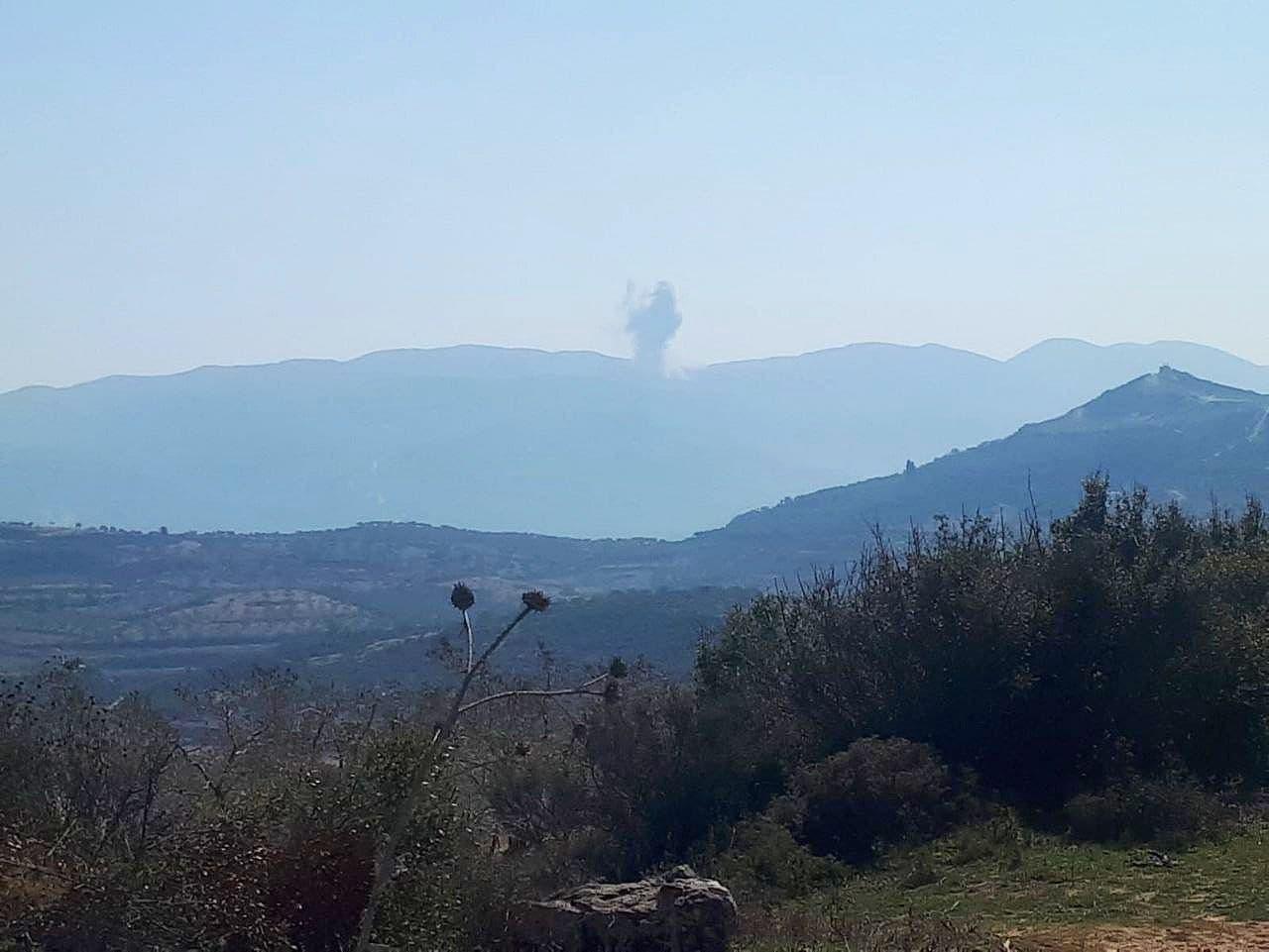 Russian Warplanes Pound Terrorist-Infested Hills In Northern Lattakia (Photos)