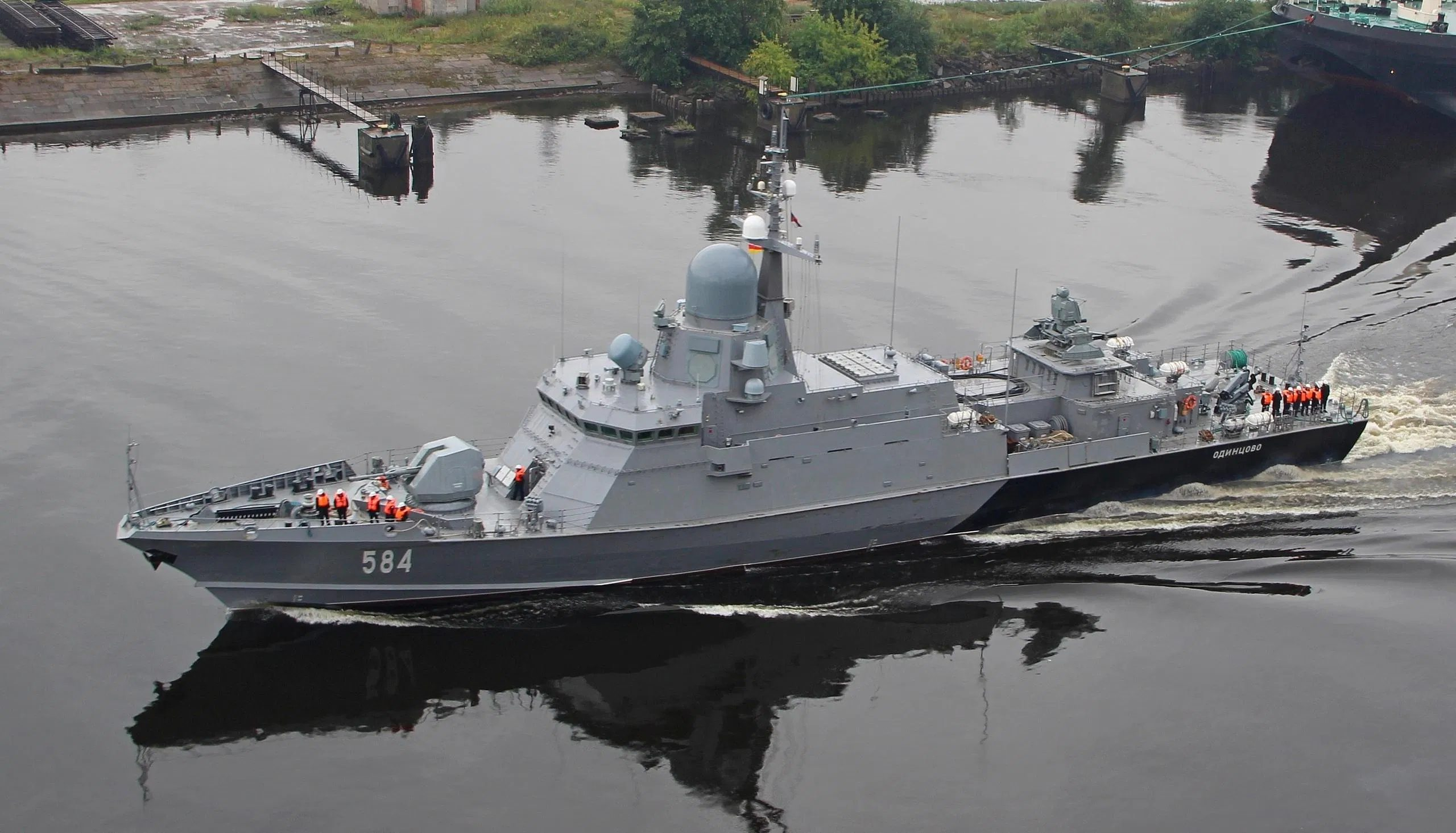 Russian Military-Industrial Companies Bicker Over Karakurt-Class Corvette Engine Production