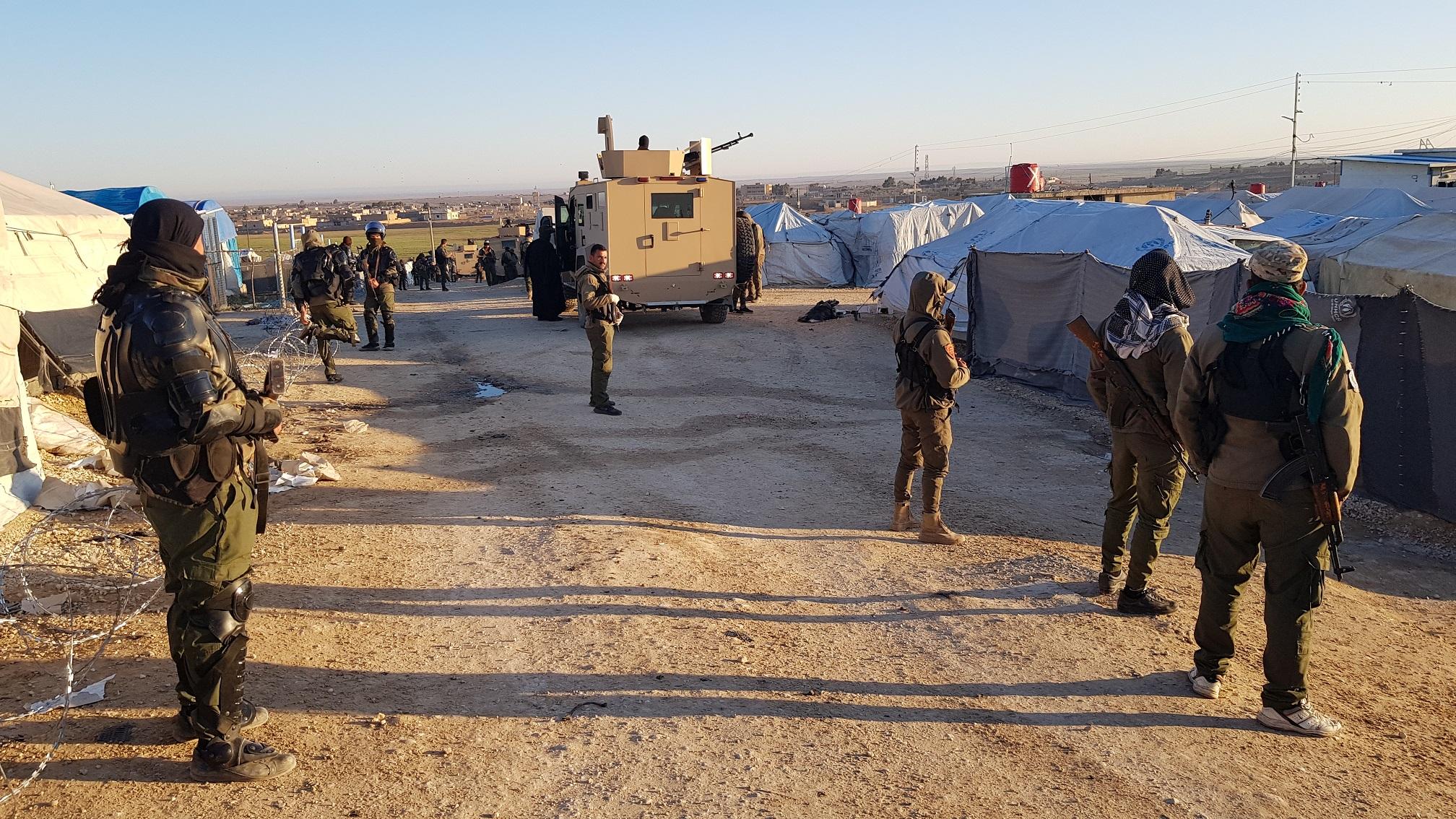 SDF Kicks Off 'Security-Humanitarian Operation' In Notorious Al-Hawl Camp (Videos)