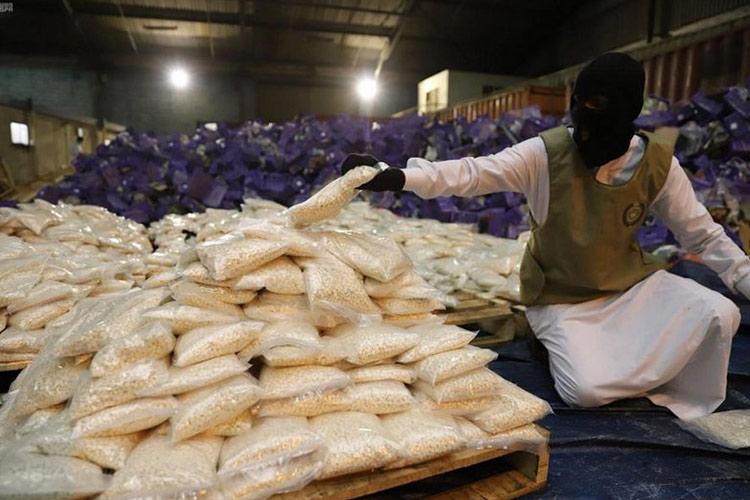 In Video: Batch Of Over 20M Amphetamine Tablets Seized In Saudi Arabia