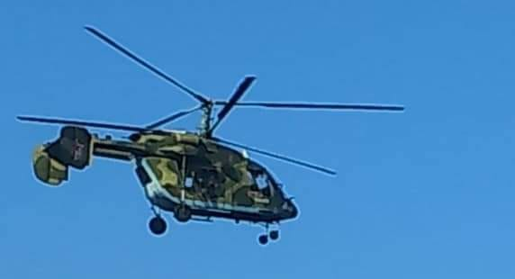 Russia's Ka-226T Helicopter Spotted In Syria (Photos)
