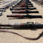 Syrian Authorities Uncover Loads Of Weapons, Including Guided Missiles, In Western Daraa (Photos)