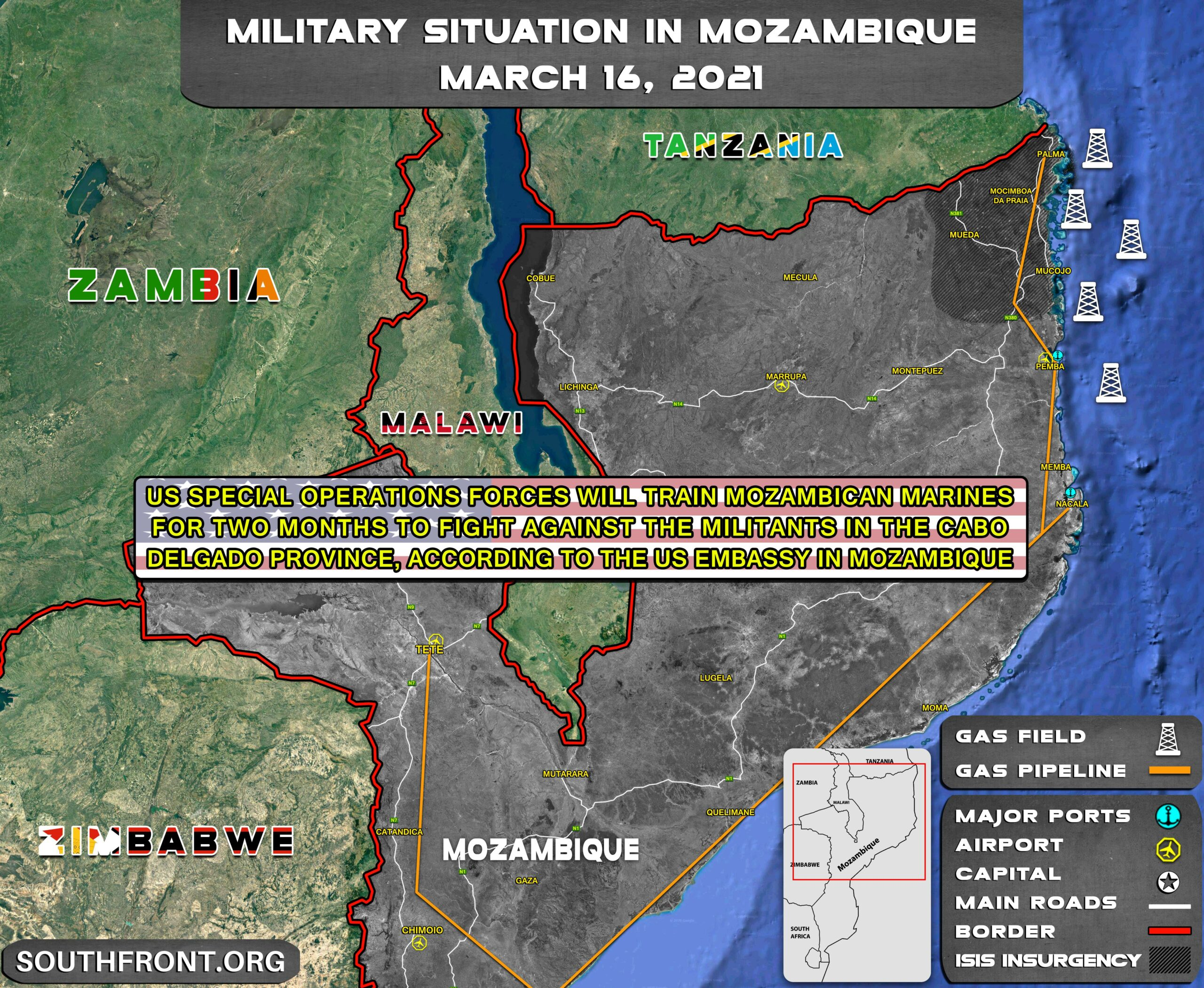 "U.S. Special Forces To Train Counter-Terrorist ""Mozambican Marines"""