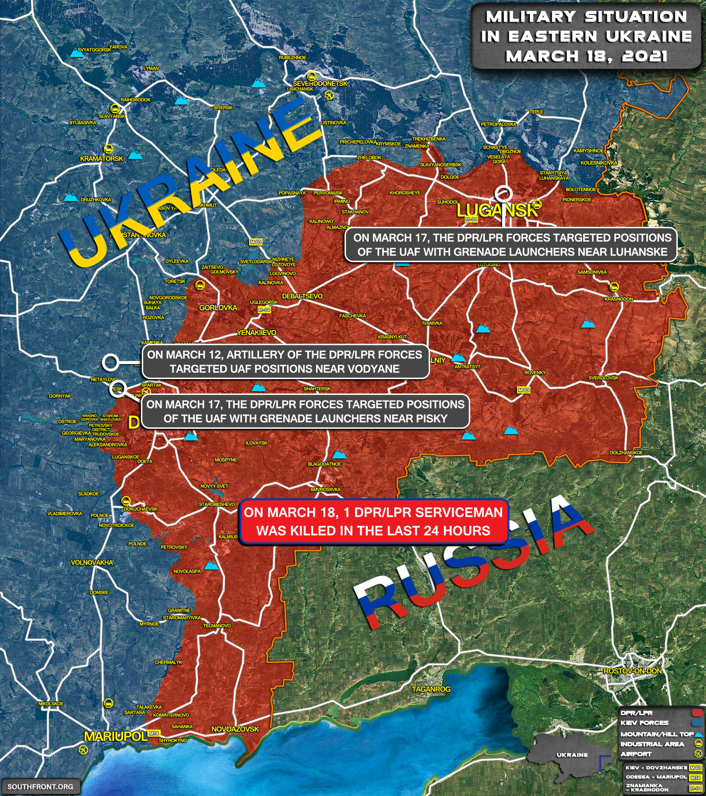 "Dangerous Escalation In Ukraine: Russia Warns Of ""Total War"" Threat"