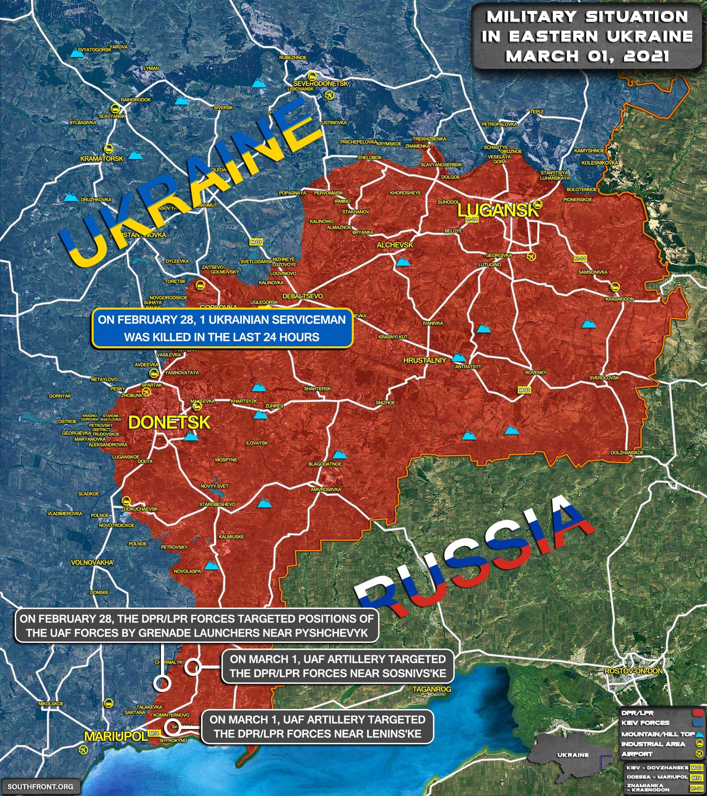 Kiev Dead Set On Escalating Eastern Ukraine