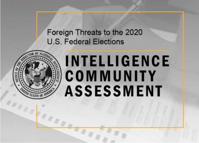 U.S. Intelligence Declassified Report On Russian Interference Into U.S. Elections. Again