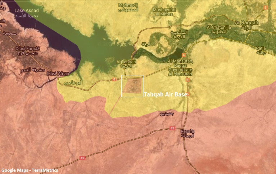 ISIS Cells Attack SDF Guards Near Air Base Used By Russian Forces In Raqqa