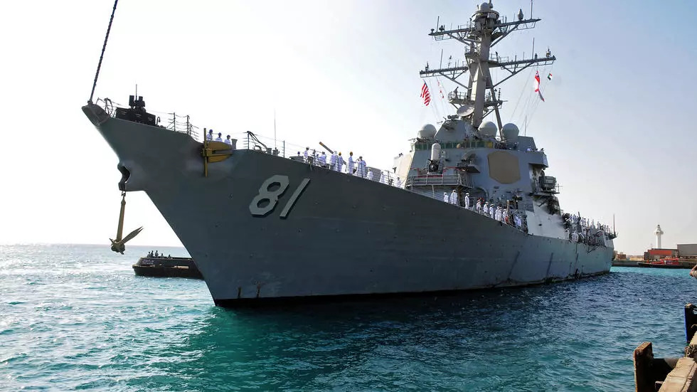 U.S. Warship Arrives In Sudan, One Day After Russian Warship Docks