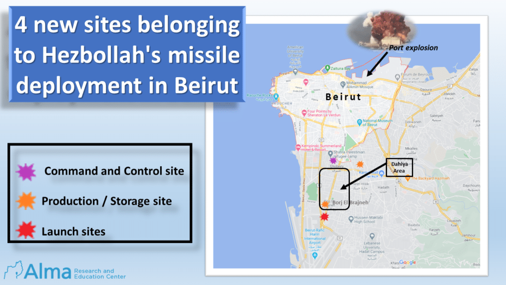 "Israeli Think Tank Discovers New ""Hezbollah Fatah 110 Missile Array"" Locations"