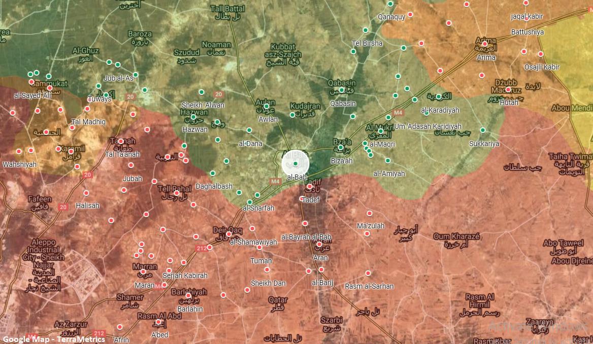 Rare Clashes Between Syrian Army, Turkish Proxies Near Al-Bab In Northern Aleppo