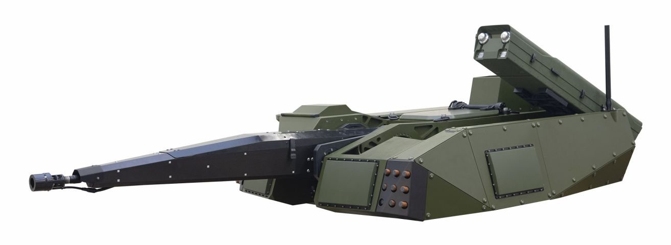 Germany's Rheinmentall Unveils Skyranger 30 Mobile Air-Defense System