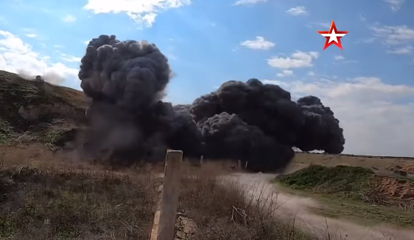 In Video: Russian Forces Destroyed Network Of Underground Tunnels Used by Terrorists In Idlib