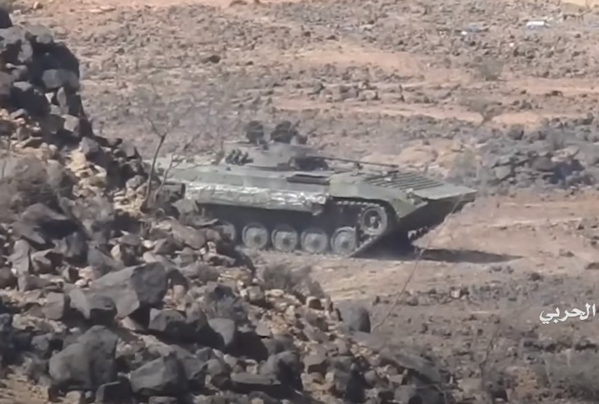 In Video: Houthis Repel Attack Of Saudi Proxies In Taiz Province