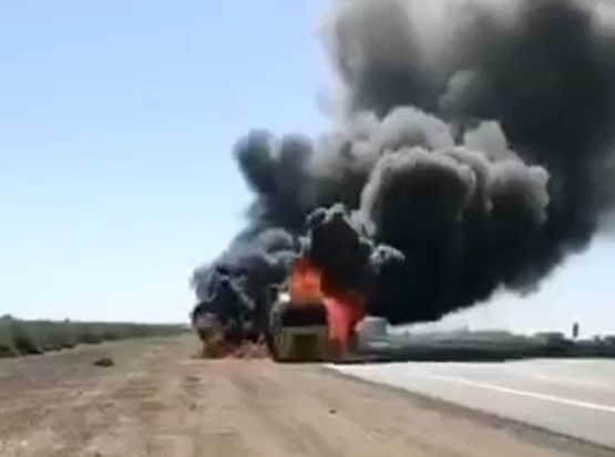 In Videos: US Supply Convoy Is Burning In Iraq Following Another IED Attack