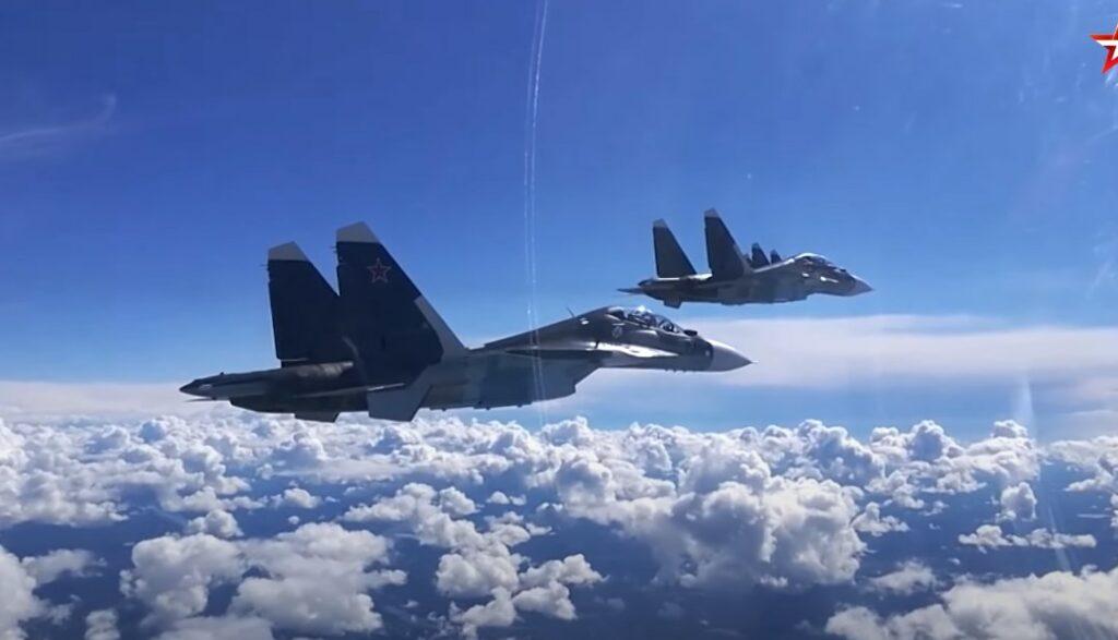 Russian Warplanes Simulate Strikes On 'Enemy Warships' Near Crimea