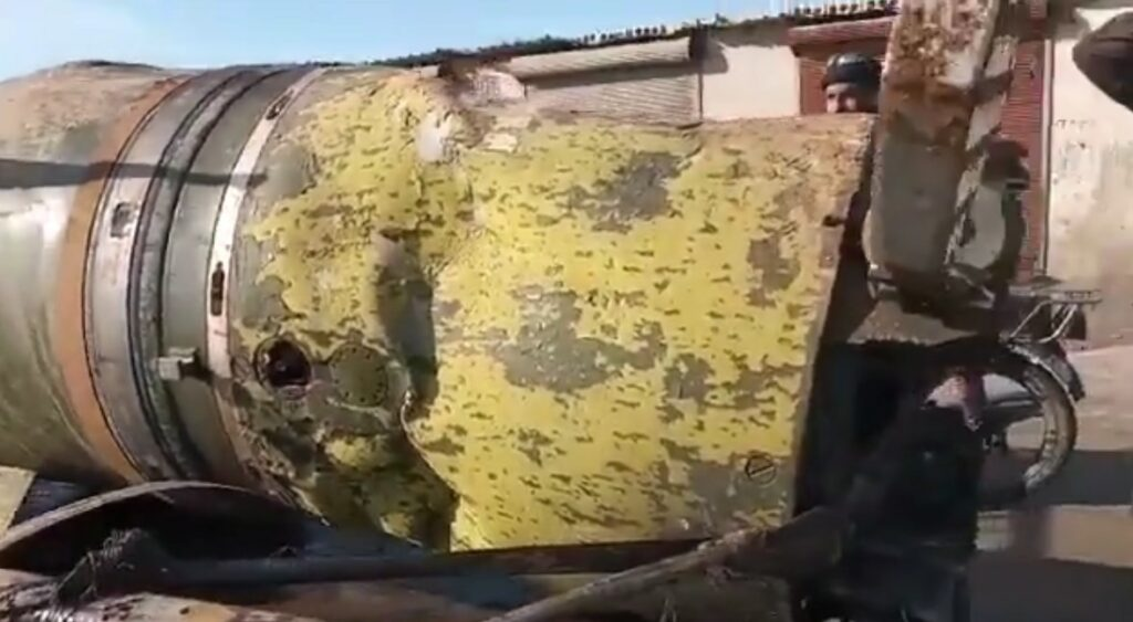 Video Shows Tochka Missile Allegedly Used In Recent Strike On Turkish-backed Oil Smugglers