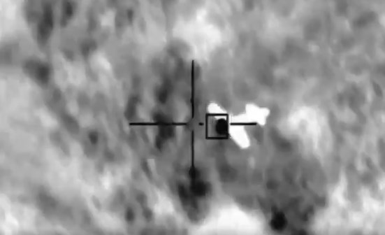 In Video: Saudi Forces Intercept Houthi Drones Launched From Yemen