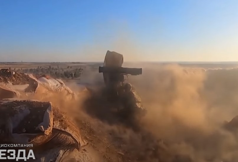 Russia Showcases Moments Of Special Operations In Syria