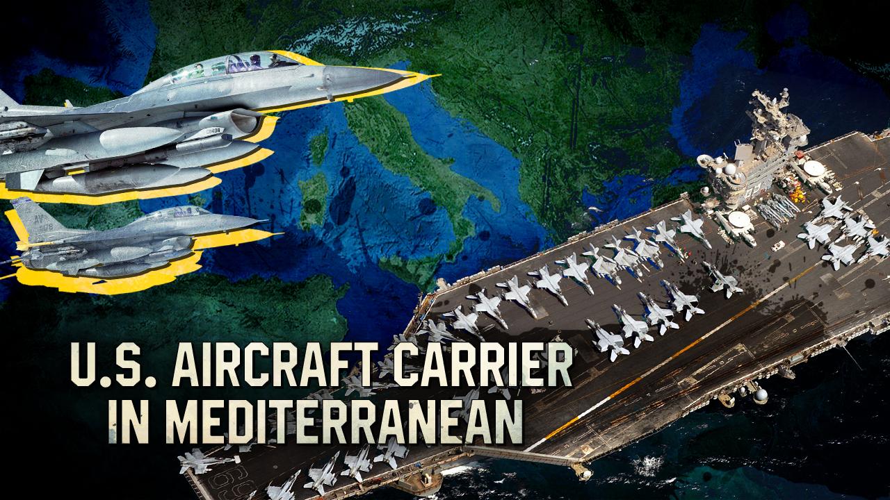 US-Flugzeugträger wird ins Mittelmeer verlegt und Damaskus bereitet sich darauf vor den Nordwesten voranzutreiben