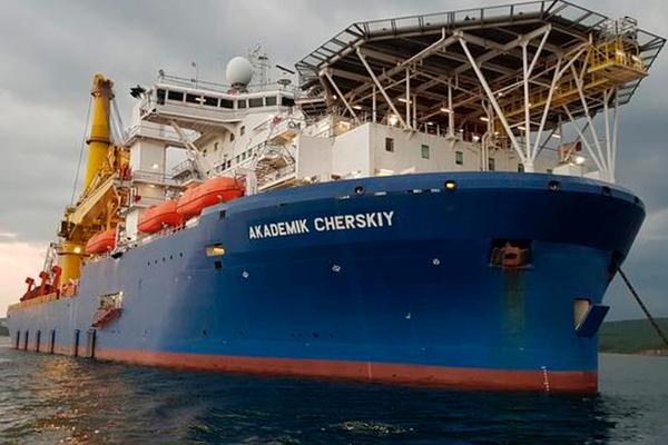 Akademik Cherskiy Arrives In Kaliningrad In Preparation To Complete Nord Stream 2