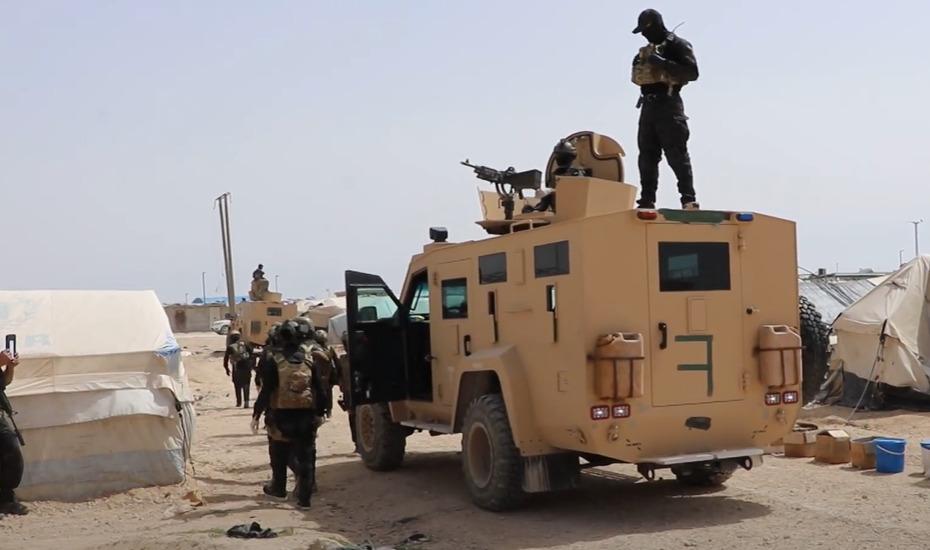 SDF Continues Operation In Al-Hawl Camp, Captured ISIS Judge (Videos)