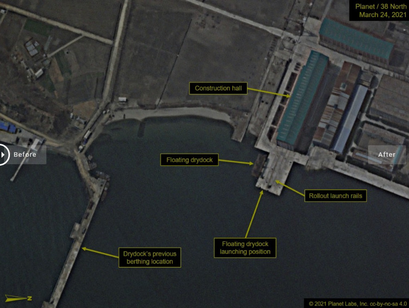 Satellite Imagery Suggests North Korea Prepping SLBM Test As It Criticizes UN And U.S.