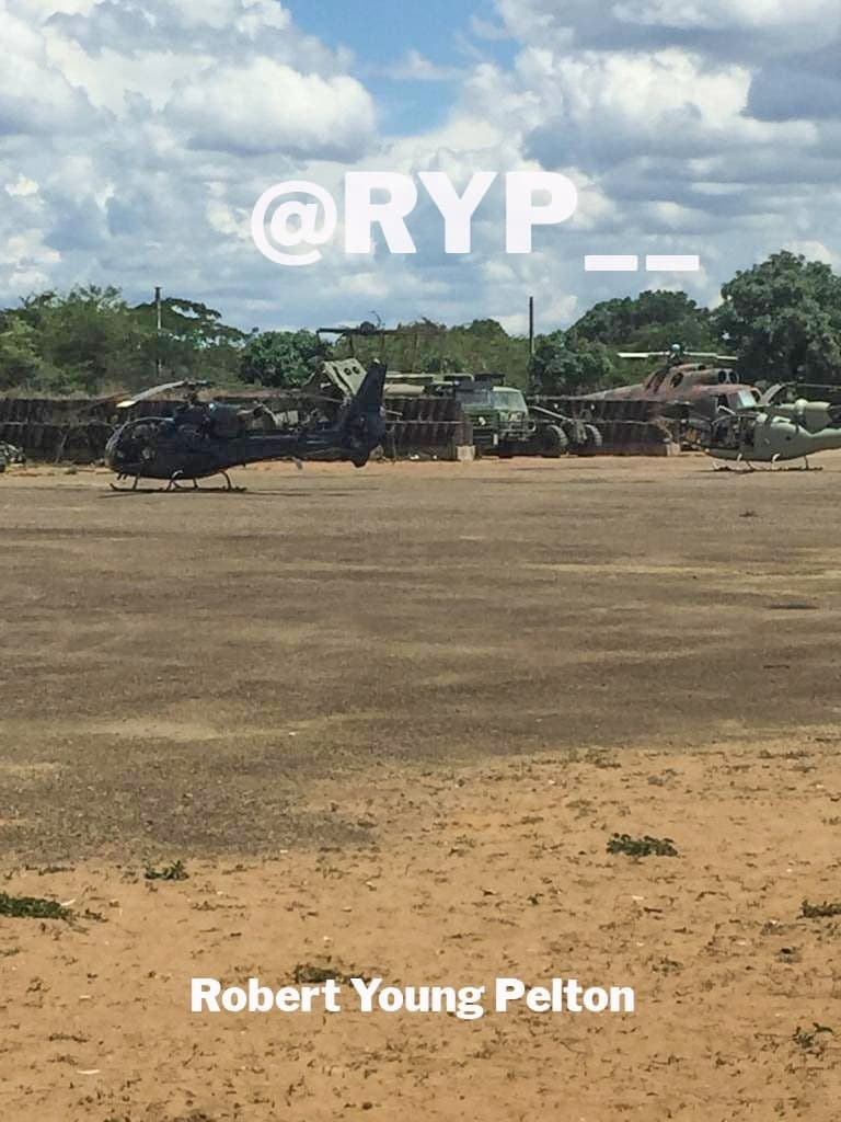 Heavily Modified Gazelle Helicopters Spotted In Mozambique