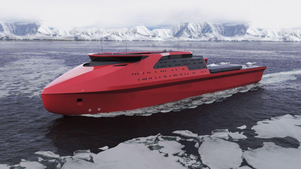 Russia's Nevsky Design Bureau Conceptual Transport And Hospital Ship