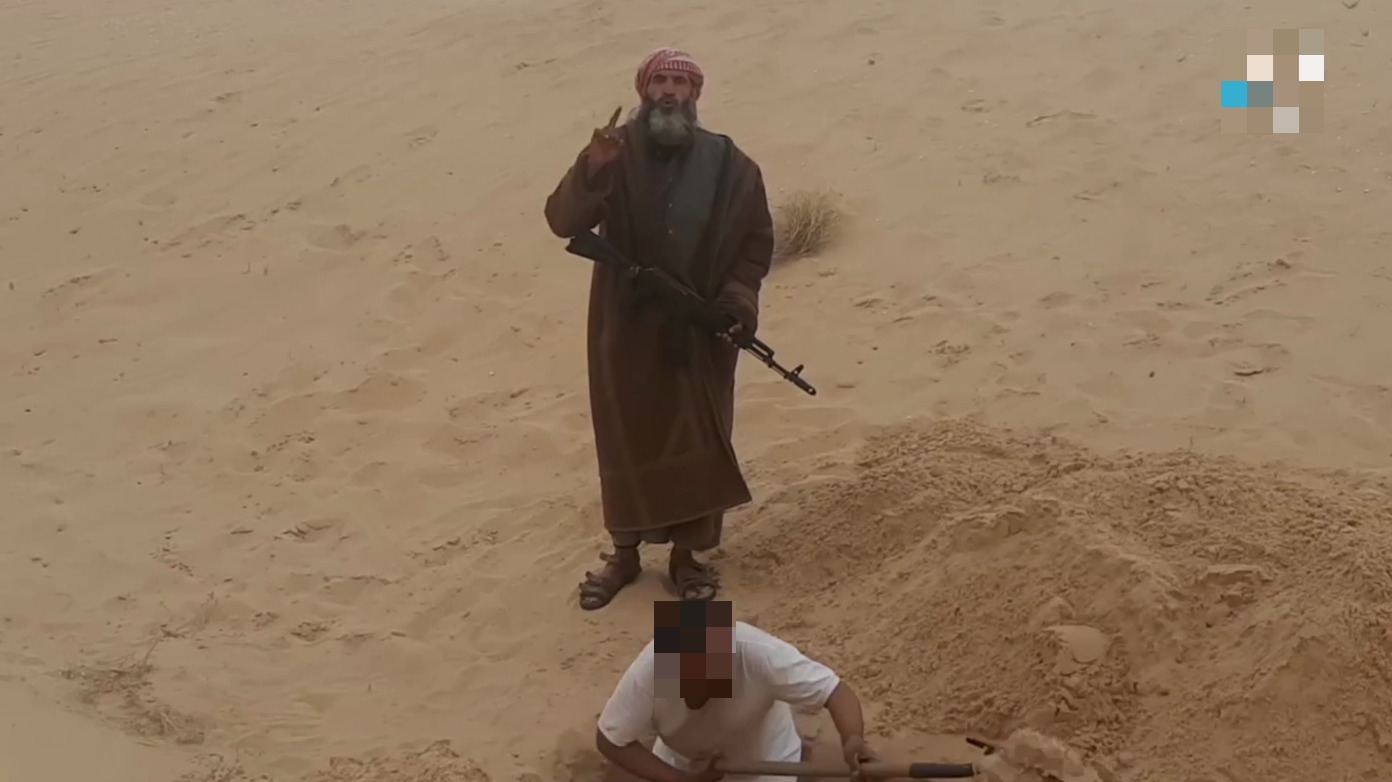 In Photos: ISIS Executed Two 'Spies' In Egypt's Sinai
