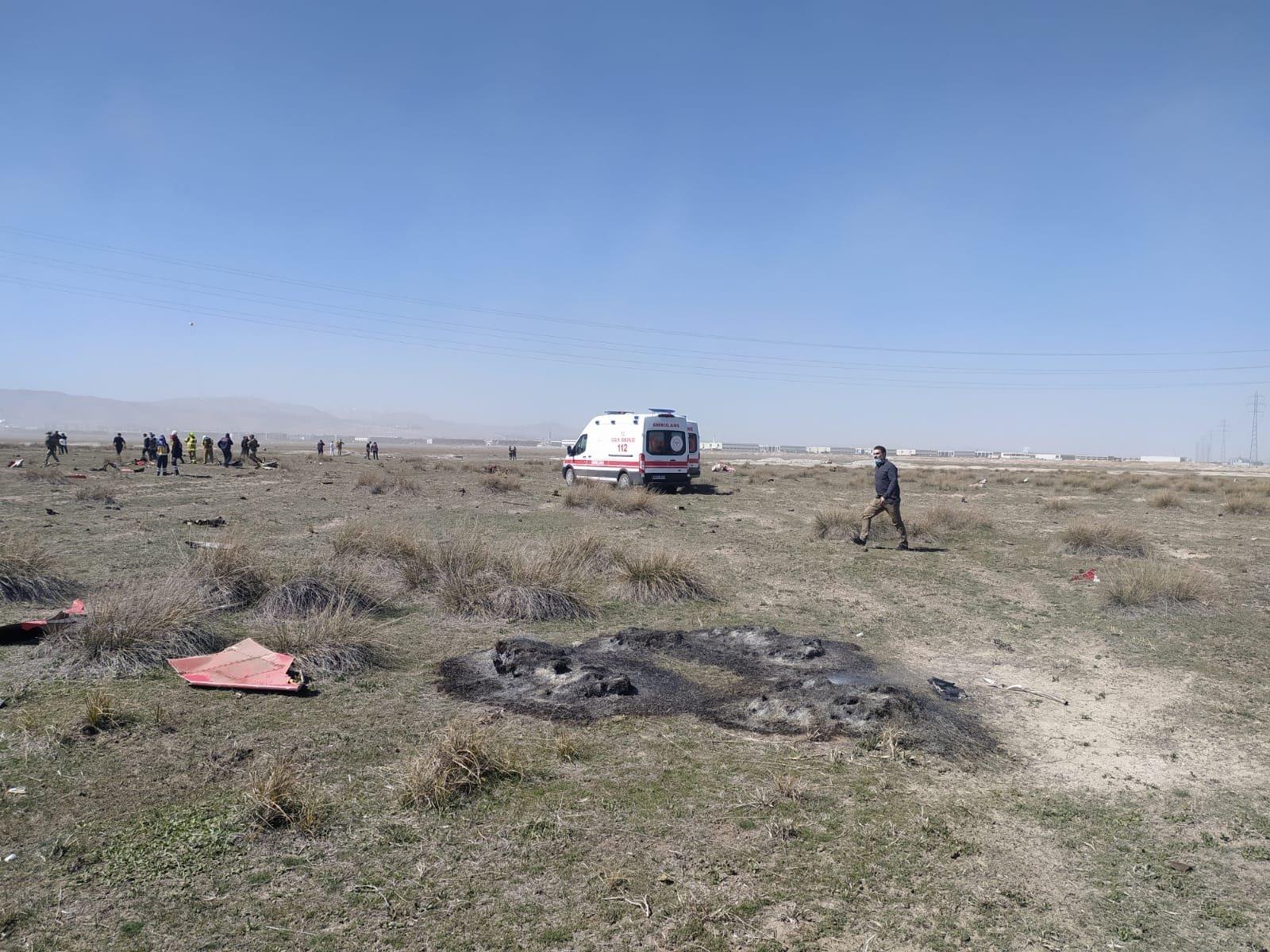 Military Pilot Killed In Jet Crash In Turkey