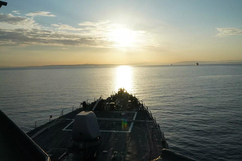 U.S. Sends Coast Guard Patrol Ship To Black Sea, As Two Russian Landing Ships Remain
