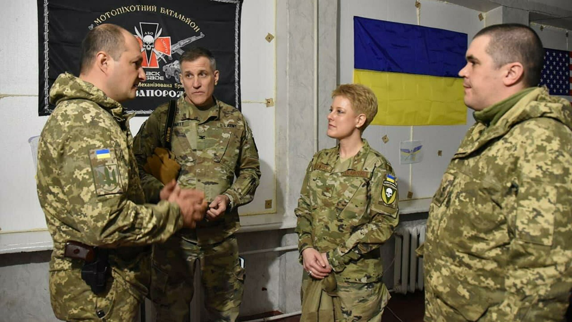 Death Or Ukraine: US Delegation In Donbass Frontlines Under Nazi Flags