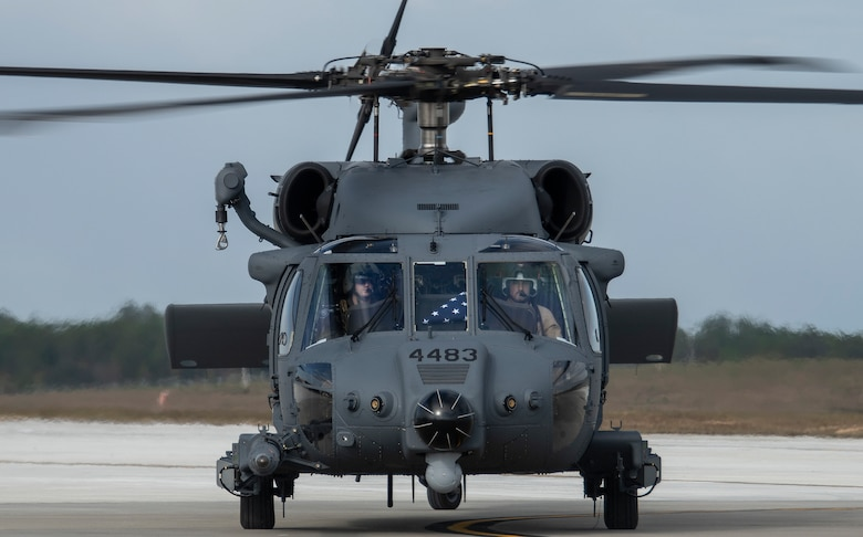 U.S. Air Force Tests In New Sikorsky HH60-W Rescue Helicopter