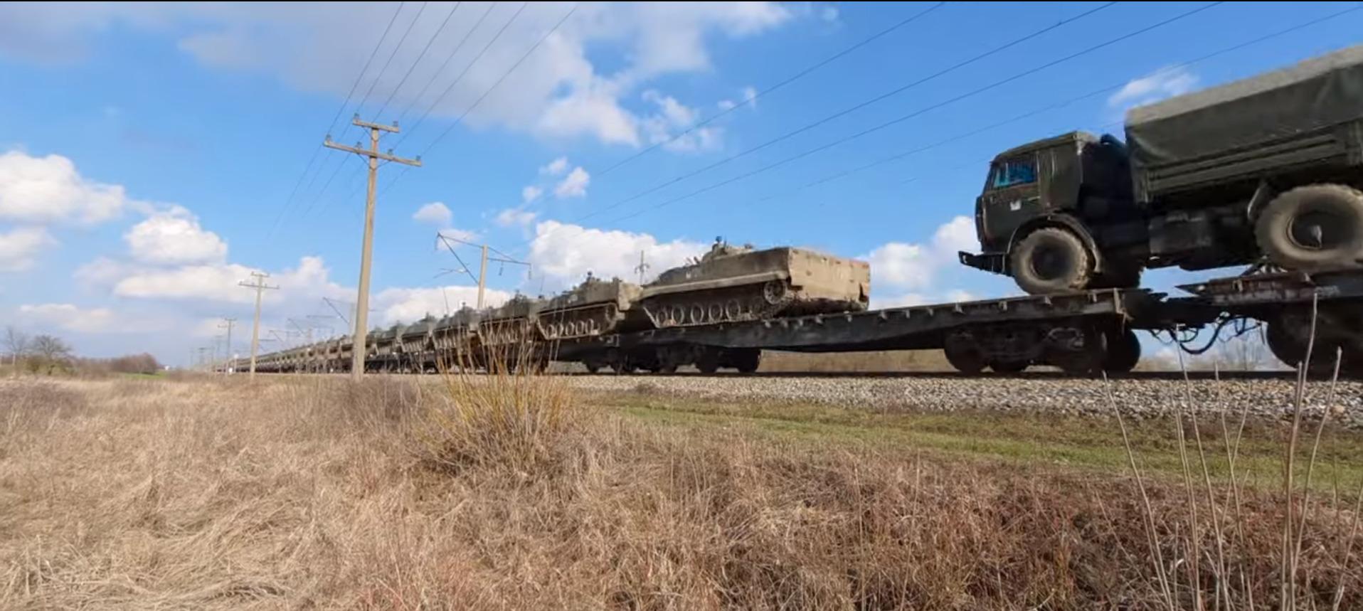 In Videos: Military Preparations In Ukraine, Russia, Belarus