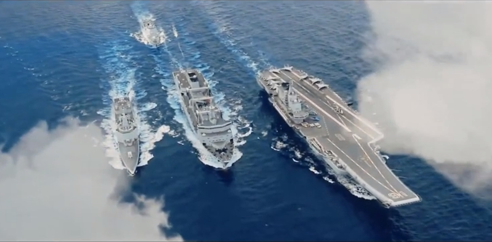 Happy Birthday To China's Navy: Epic Video Showing Chinese Naval Might Released Online