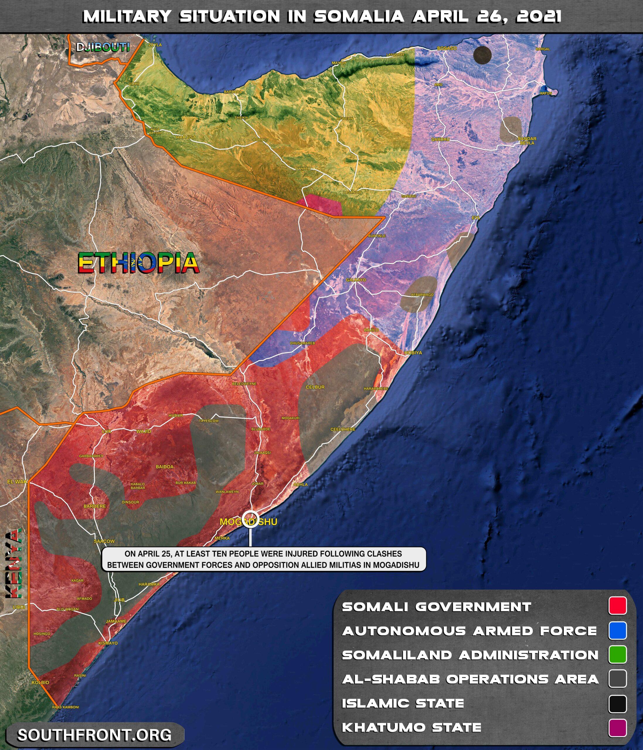 Chaos In Mogadishu As Political Crisis Deepens