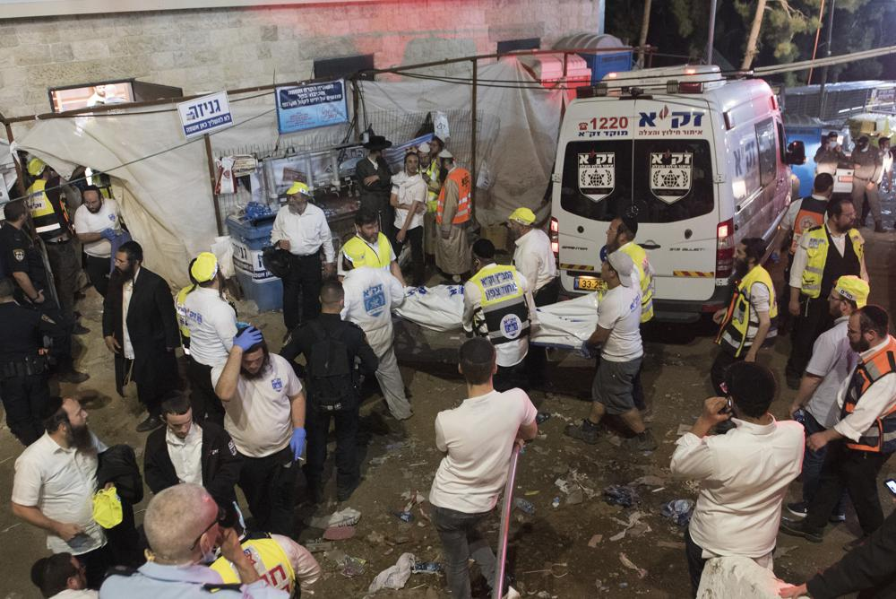 At Least 44 Dead After Crush And Stampede At Israeli Religious Festival (VIDEO)