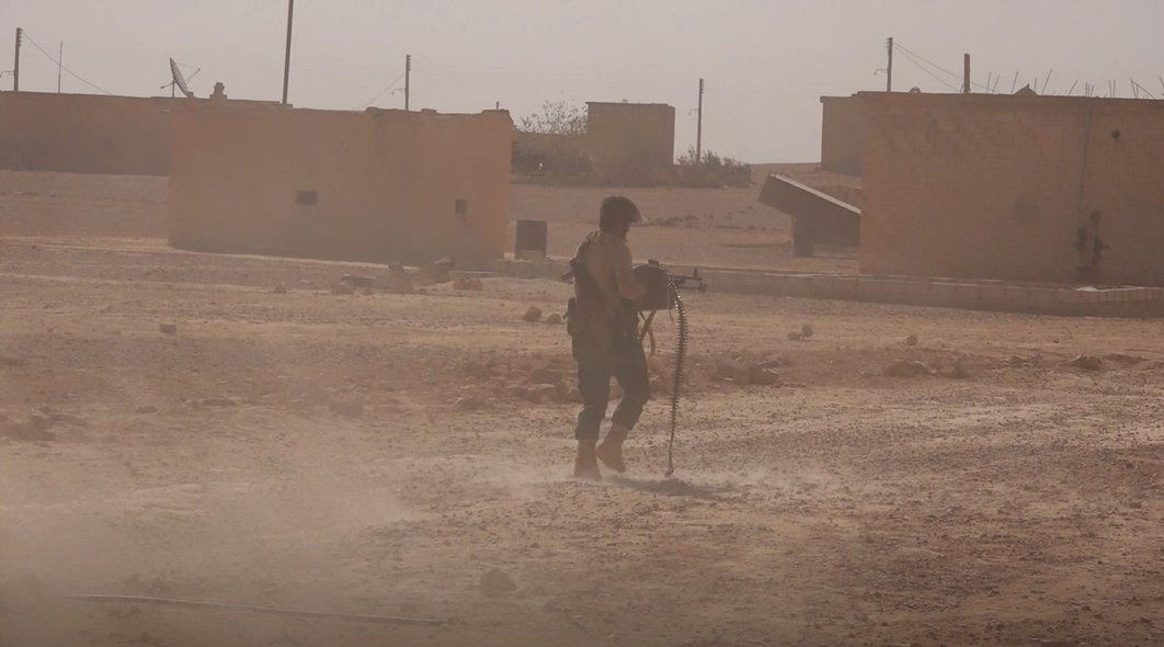 Gunmen Attacked SDF Prison In Al-Hasakah While US Was Redeploying ISIS Members