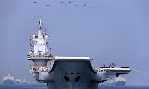 Chinese Liaoning Aircraft Carrier Conducted Naval Drills Near Taiwan, Sailed Between Disputed Diaoyu Islands