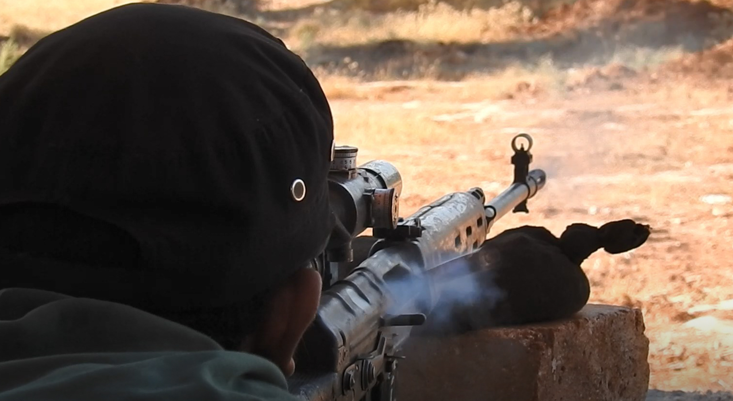 Syrian Army, Al-Fateh Al-Mubeen Snipers Exchange Fire On Greater Idlib Frontlines