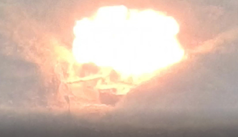 Combat Footage: PKK's Guided Missiles Destroyed Two Tanks In 'Secret' Turkish Base In Kurdistan