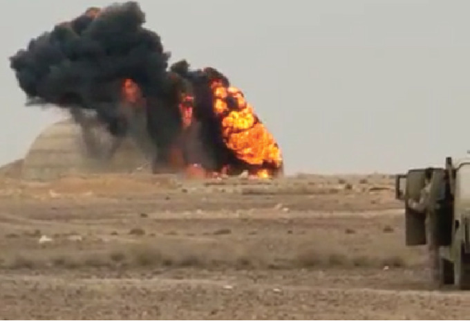 In Video: Iraqi Security Forces Thwarted Terrorist Attack In Al-Anbar
